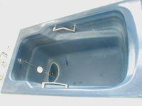 ホーロー浴槽磨き前2