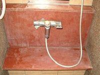 浴室御影石磨き前1