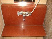 浴室御影石磨き後1