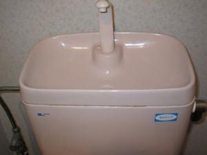 手洗い器水垢取り後1