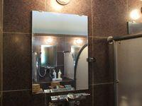 風呂鏡水垢取り後2