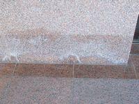 基礎石水垢取り前1