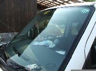 車ガラス水垢取り後1